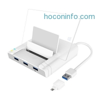 ihocon: UNITEK USB 3.0 3 Port Hub + Docking Station充電座