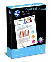 ihocon: HP Paper, Office Ultra White, 20lb, 8.5 x 11, Letter,  92 Bright, 500 Sheets / 1 Ream (172160R), Made In The USA