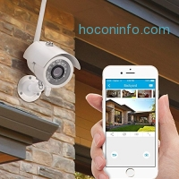 ihocon: Zmodo 720p HD Outdoor Home Wireless Security Surveillance Video Cameras System (4 Pack)居家防盜監視系統含四個攝像頭