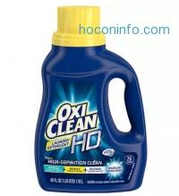 ihocon: OxiClean HD Laundry Detergent Sparkling Fresh, 26 Loads 40.0 oz.