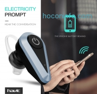 ihocon: HAVIT Bluetooth 4.1 Headset, Bluetooth Wireless Headphone Earbuds with Noise Cancelling, Hands-free Clear and Stable Calls, High Voice Quality, for iPhone and Android (I5)