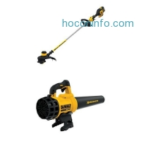 ihocon: DEWALT 20V MAX 5.0 Ah Lithium Ion XR Brushless String Trimmer & Blower Bundle