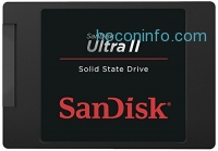 ihocon: SanDisk Ultra II 1TB SATA III SSD - 2.5-Inch 7mm Height Solid State Drive - SDSSDHII-1T00-G25