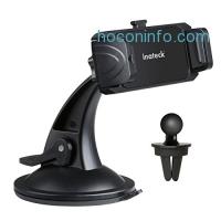 ihocon: Inateck Windshield/ Dashboard/ Air Vent Car Mount 吸盤式汽車手機固定架