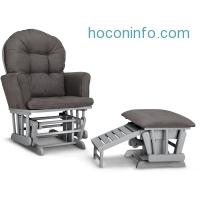 ihocon: Graco Parker Semi-Upholstered Glider and Nursing Ottoman