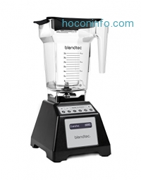 ihocon: Blendtec Total Blender Classic, with FourSide Jar, Black