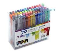 ihocon: LolliZ® 70 Gel Pens Tray Set, 70 Unique Color Choices