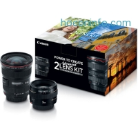 ihocon: Canon Advanced Two Lens Kit with 50mm f/1.4 and 17-40mm f/4L Lenses