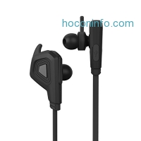 ihocon: (Upgraded Version) Bluetooth Headphones,J&L-100 Wireless Bluetooth V4.1 Earphones with Extra Bass, Secure Fit for Sports, Noise Isolation In-ear Earbuds w/Mic (black)