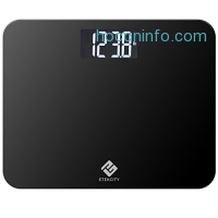 ihocon: Etekcity Digital Body Weight Bathroom Scale with Extra Large Display, 440 Pounds, Elegant Black 數字型體重計