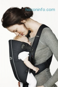 ihocon: BABYBJORN Baby Carrier Original - Dark Blue, Cotton 嬰兒背帶