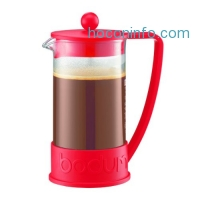 ihocon: Bodum Brazil 3-Cup French Press Coffee Maker 12oz (colors vary)法式壓濾咖啡壺