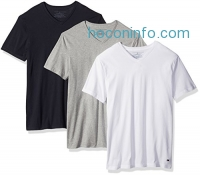 ihocon: Tommy Hilfiger Men's Undershirts 3 Pack Cotton Classics V-neck T-shirt