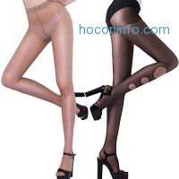 ihocon: Tights for Women Control Top Sheer Toe 15 Denier Shaping Anti snag (M/L)絲襪