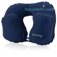 ihocon: Purefly Inflatable Travel Neck Pillow旅行用充氣枕