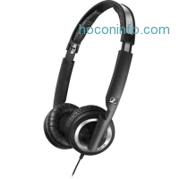 ihocon: Sennheiser PX 200-IIi On-Ear Stereo Headphones with Microphone (Black)
