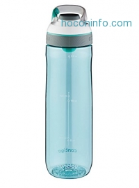 ihocon: Contigo Cortland Water Bottle, 24-Ounce, Greyed Jade