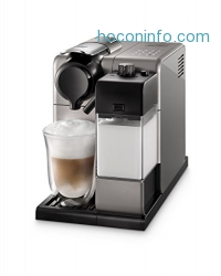 ihocon: De'Longhi EN550S Lattissima Touch Nespresso Single Serve Espresso Maker, Silver