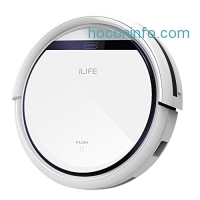 ihocon: ILIFE V3s Robotic Vacuum Cleaner with Smart Auto Cleaning Dry Mopping吸地及乾拖地機械人