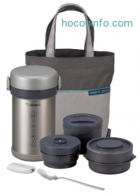ihocon: Zojirushi SL-NCE09 Ms. Bento Stainless-Steel Vacuum Lunch Jar