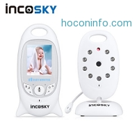 ihocon: incoSKY Wireless Baby Monitor with Night Vision and Temperature Sensor,2 Way Talk 雙向通話夜視, 嬰兒監視器