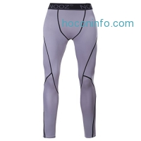 ihocon: Nooz Men's Cool Dry Compression Baselayer Pants Legging Shorts Tights
