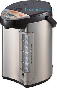 ihocon: Zojirushi America Corporation CV-DCC40XT VE Hybrid Water Boiler and Warmer, 4-Liter, Stainless Dark Brown