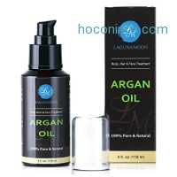 ihocon: Organic Argan Oil Moroccan Cold-Pressed Argan Oil, 4 oz有機冷壓摩洛哥榛果油