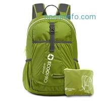 ihocon: ECOOPRO 20L Durable Lightweight Packable Backpack超輕可折疊收納背包