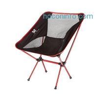 ihocon: Moon Lence Ultralight Folding Chairs with Carry Bag 超輕折疊椅含收納袋