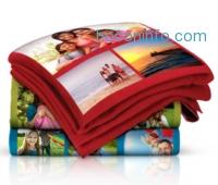 ihocon: 40x60 Custom Photo Collage Fleece Blanket