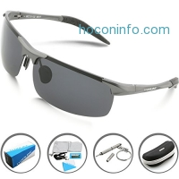 ihocon: Woolike Men's Polarized Sunglasses男士偏光太陽眼鏡
