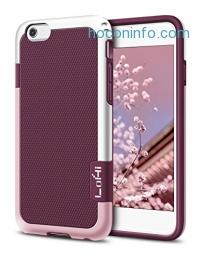 ihocon: LoHi iPhone 6/6s手機套 Shockproof Anti-Slip Rugged Case - Wine Red