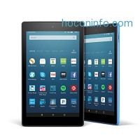 ihocon: All-New Fire HD 8 Variety Pack, 32GB - Includes Special Offers (Black/Blue)