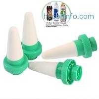 ihocon: Vacation Plant Waterer,Set of 4 陶磁自動澆水器