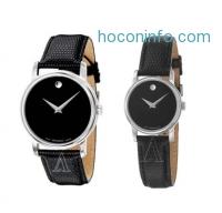 ihocon: Movado 摩凡陀博物館皮帶表 Museum Watch