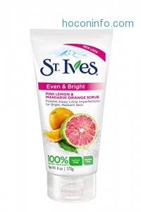 ihocon: St Ives Scrub, Even & Bright Pink Lemon & Mandarin Orange 6 Ounce