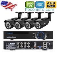ihocon: incoSKY 8CH Camera Security System 居家防盜監視系統