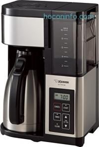 ihocon: Zojirushi象印 EC-YSC100 Fresh Brew Plus Thermal Carafe Coffee Maker, 10 Cup, Stainless Steel/Black