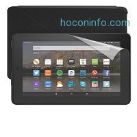 ihocon: Fire Essentials Bundle including Fire Tablet, 7 Display, Wi-Fi, 16 GB - Includes Special Offers, Amazon Cover - Black and Screen Protector