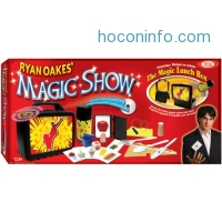 ihocon: IdealRyan Oakes 101-Trick Magic Show with Magic Lunch Box Set and Instructional DVD