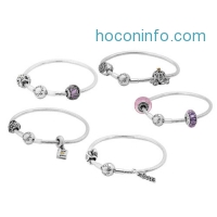 ihocon: Pandora Assorted Starters Set - 19cm Silver Bangle With 2 Beautiful Charms