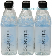 ihocon: Icelandic Glacial Natural Spring Water, 500 Milliliter, 6 Count 冰島冰川天然礦泉水