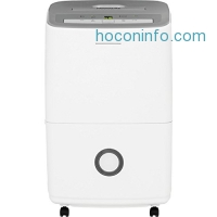 ihocon: 50-Pint Dehumidifier with Effortless Humidity Control, White