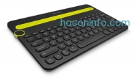 ihocon: Logitech Bluetooth Multi-Device Keyboard K480 for Computers, Tablets and Smartphones, Black (920-006342)