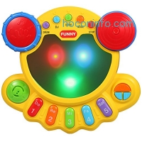 ihocon: KAWO Musical Drum Toy Baby Beats Musical Toy兒童音樂玩具