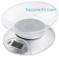 ihocon: Etekcity Digital Food Scale with Removable Bowl, 11 lb 5kg 廚用電子秤附可分離透明碗