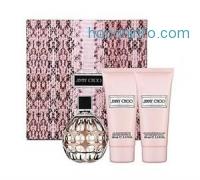 ihocon: JIMMY CHOO 3.3 oz EDP spray Womens Perfume+ 3.3 body lotion+ 3.3 gel 3.4 SET NIB