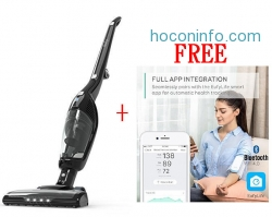 ihocon: Eufy HomeVac Duo 2-in-1 Cordless Vacuum Cleaner, Rechargeable Bagless Stick and Handheld Vacuum with Upright Charging Base - Black