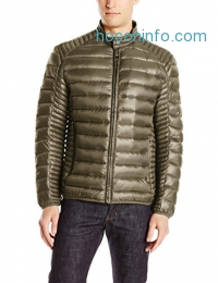 ihocon: Marc New York by Andrew Marc Men's Duane Packable Down Moto Jacket